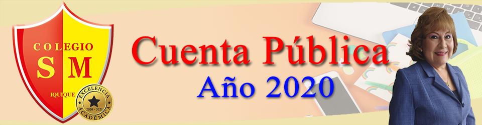 Cuenta Pública año 2020